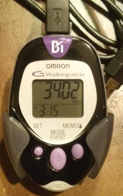 omron walking style pedometer instructions